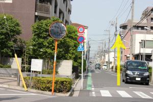 この通りです。